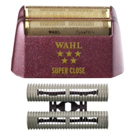 Wahl Wahl Replacement Double Gold Foil & Cutter Bar Assembly Fits Shaver Shaper