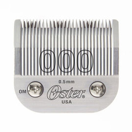 Oster Oster Detachable Clipper Blade Size 000 Fits Classic 76/Model 10/Octane