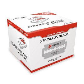 Dorco Dorco Stainless Platinum Double Edge Razor Blades 1000pcs [CS]