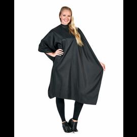 "Betty Dain Betty Dain Classique Styling Cape Iridescent Nylon Snap Closure 45""x60"" Black"