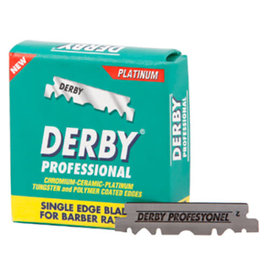 Derby Derby Single Edge Barber Razor Blades Platinum 100pcs