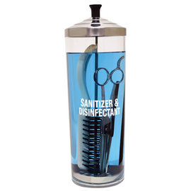ScalpMaster ScalpMaster Acrylic Sanitizing Jar 42oz