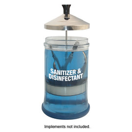 DL Professional DL Professional Glass Manicure Sanitizing Jar 21oz