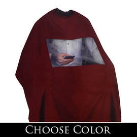"""Shave Factory Shave Factory Cutting Cape w/ Window Snap Closure 59""""x51"""""""