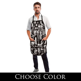 Betty Dain Betty Dain Limited Edition Vintage Gold Barber Apron