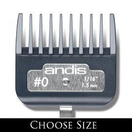 Andis Andis Master Premium Metal Clip Combs Guides ML