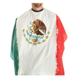 """Campbell's Campbell's Mexico Flag Styling Cape Snap Closure 45""""x60"""""""