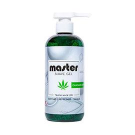 Master Master Shave Gel Cannabis Sativa Oil 16oz