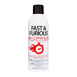 Fast & Furious Fast & Furious 3-in-1 Clipper Blade Cleaner/Cooler/Lubricant 10oz