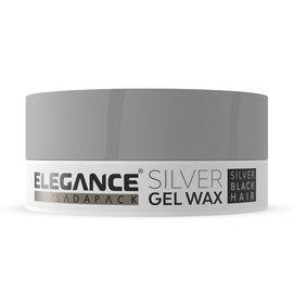 Elegance Elegance Silver Gel Wax 140ml
