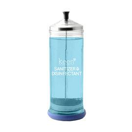 Keen Essentials Keen Essentials Glass Sanitizer & Disinfectant Germicide Jar 37oz