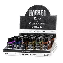 Marmara Marmara Barber Eau De Cologne 50ml 36pcs Display [CS]