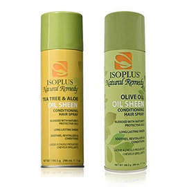 Isoplus Isoplus Natural Remedy Oil Sheen Conditioning Hair Spray 7oz