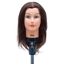 "Celebrity Celebrity Debra Manikin Up to 19"" 100% Brown Human Hair"