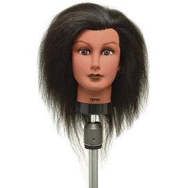 "Celebrity Celebrity Yolanda Manikin Up to 21"" Coarse Brown Yak Hair"