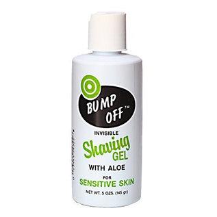 Bump Off Bump Off Head to Toe Invisible Shaving Gel w/ Aloe for Sensitive Skin 6oz