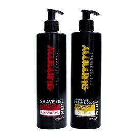 Gummy Gummy Aftershave Cream & Cologne w/ Shave Gel Combo Set 375ml