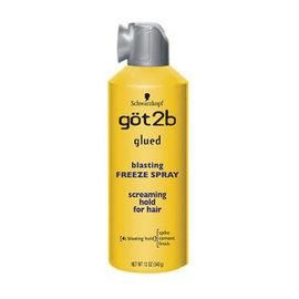 Got2B Got2b Glued Blasting Freeze Spray Screaming Hold 12oz