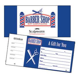 ScalpMaster ScalpMaster Barber Gift Certificates 50pcs