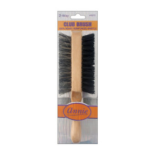 Annie Annie 2-Way Wave Brush Soft/Hard Short Handle