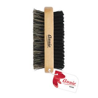 Annie Annie 2-Way Wooden Club Wave Brush Soft/Hard Bristles No Handle
