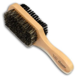 Annie Annie 2-Way Wooden Club Wave Brush Soft/Hard Bristles Long Handle