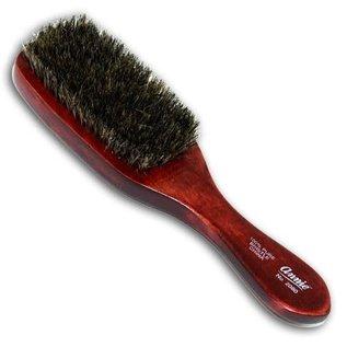 Annie Annie Wooden Club Wave Brush 100% Soft Boar Bristle Long Handle