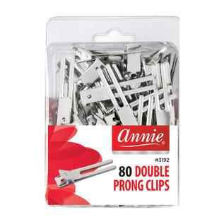 Annie Annie 80pcs Double Prong Clips