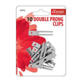 Annie Annie Double Prong Clips 10pcs