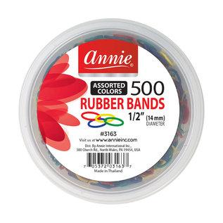 Annie Annie Assorted Rubber Bands 500pcs