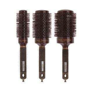 Asti Asti Chocolate Premium Nano Ceramic + Ionic Round Thermal Brush