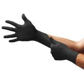Dermatec Dermatec + Plus Viper Powder Free Latex Gloves Black 10bxs [CS]