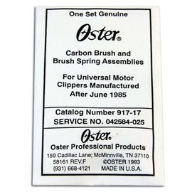 Oster Oster Replacement Carbon Brush & Brush Spring Assemblies