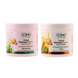Cosmo *CLOSEOUT* Cosmos Skin Naturals Facial Massage Cream Vitamin Theraphy 600ml