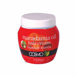 Cosmo *CLOSEOUT* Cosmo Macadamia Oil Hair Cream Damage Repair 8.5oz