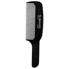 "ScalpMaster ScalpMaster 9"" Flat Top Comb Heat Resistant Static Free"