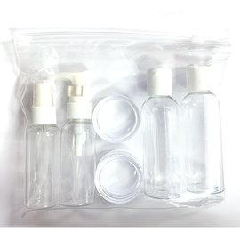 Niso Niso 6pc Bottles & Jars Kit w/ Clear Bag