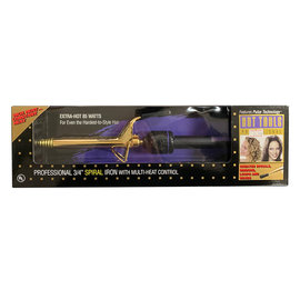"""Hot Tools *CLOSEOUT* Hot Tools 3/4"""" Spiral Spring Curling Iron w/ Multi Heat Control"""