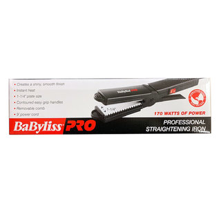 "BabylissPRO *CLOSEOUT* BabylissPRO 1-1/4"" Straightening Flat Iron 170W"