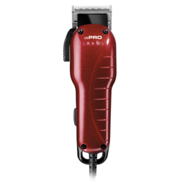 Andis Andis International US PRO Adjustable Blade Corded Clipper w/ Guides 230V [UK Plug]
