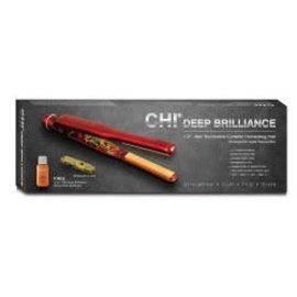 "*CLOSEOUT* Chi Deep Brilliance 1/2"" Red Tourmaline Ceramic Hair Styling Flat Iron"