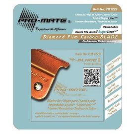 Pro-Mate Pro-Mate Diamond Film Carbon T-Blade for Andis Superliner RT-1