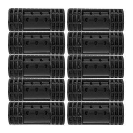 """Jacquelyn Collection Snap on Smooth Magnetic Rollers 10pcs 7/8"""""""