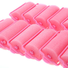 Clear Basics Snap-On Foam Rollers Small 14pcs