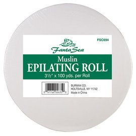 """FantaSea FantaSea Muslin Epilating Wax Roll 3-1/2""""x100yds"""