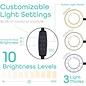 "12"" Selfie LED Ring Light Kit w/ Tripod"