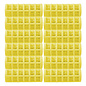 Annie Snap On Rollers Medium Yellow 12pcs