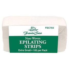 FantaSea FantaSea Non-Woven Epilating Strips 1x3 Extra Small 100pcs