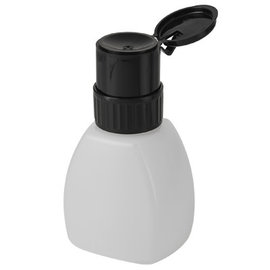 DL Professional DL Professional Lockable Pump Dispenser Bottle w/ Black Lid 8oz