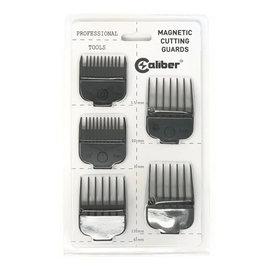 Caliber Caliber 5pc Magnetic Attachment Cutting Comb Guides